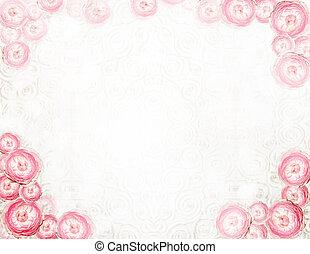 Arrangement. Abstract Festive Floral Background