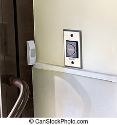 Access control entries in the room