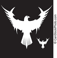 White Eagle - Symbolizing the power, protection, dignity,...