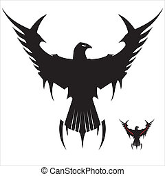 Black Eagle - Symbolizing the power, protection, dignity,...