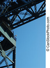 Finnieston Crane - Historic landmark crane nex to the River...