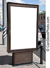 blank of billboard