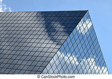 Building Block  - Glass building