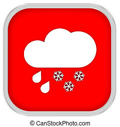 Mainly cloudy with considerable amount of rain and snow sign...