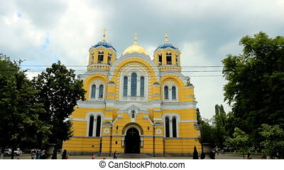 Vladimir Cathedral in Kyiv - main cathedral of Ukrainian...