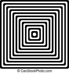 Striped black- white background - Striped black- white...