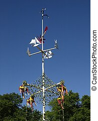 Midsummer Pole - finnish Midsummer pole