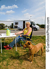 Traveling by mobile home - Traveling with dog by mobile home