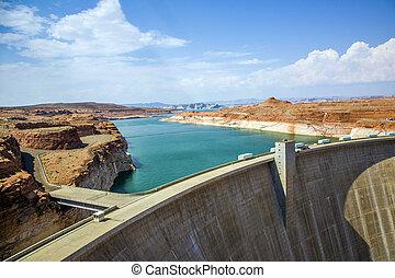 Glen Canyon Dam, near Page Arizona