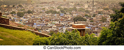 Jodhpur, India - View of jodhpur city in Rajasthan, India,...