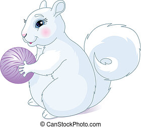 White squirrel