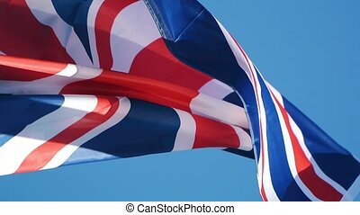 Flag of the the United Kingdom of Great Britain and Northern...
