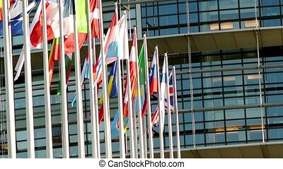 European Union Countries flags - European Union countries...
