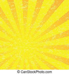 Abstract Sun Burst Pattern. - Gradient Abstract Sun Burst...