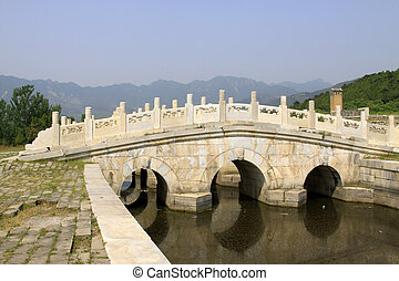 ancient Chinese landscape architecture in the Eastern Tombs of t