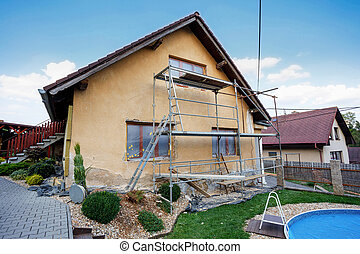 Construction or repair of the rural house, fixing facade,...