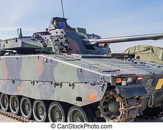Dutch military vehicle - Dutch Military armored fighting...