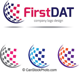 Company logo design, corporate iden - Logo design vector for...