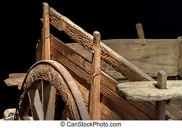 Chariot - Ancient chariot for agricultural work