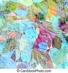 abstract watercolor background - abstract colorful...