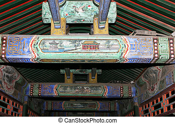 Long Corridor -- is a covered walkway in the Summer Palace...