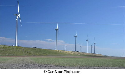 windmills energy - power by windmills