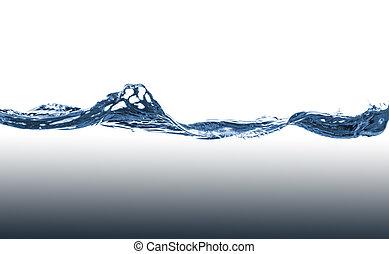藍色, 水, 波浪