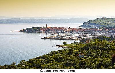 coast town Izola - Beautiful coast town Izola - Slovenia...