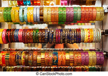 Bangles - Indian Bangles in a shop