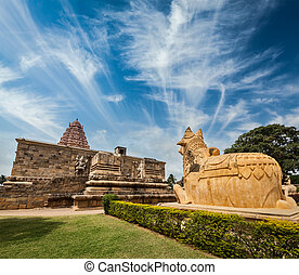 Gangai Konda Cholapuram Temple. Tamil Nadu, India - Hindu...