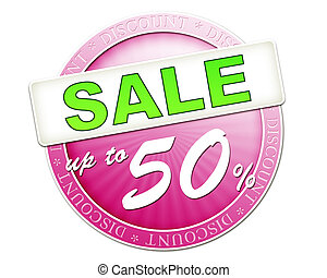 sale button up to 50 - An image of a useful sale button up...