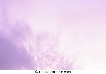 Colorful sky in pink purple background
