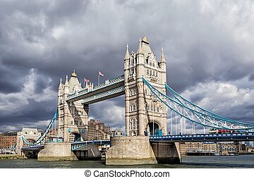 Tower Bridge in London - Tower Bridge is a bridge in London...