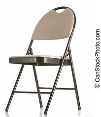 folding chair isolated on a white background