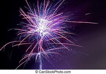 """Fireworks - Purple Haze - """"Remember, remember, the fifth of..."""