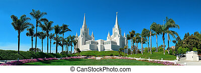 San Diego Mormon Temple at La Jolla, CA