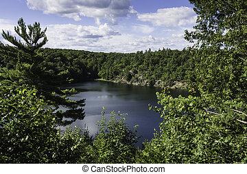 Pink Lake - Gatineau Park