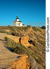 Point Loma light house in San Diego