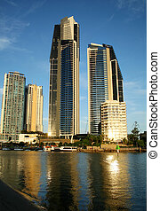 Surfers Paradise Skyline - View of Surfers Paradise...