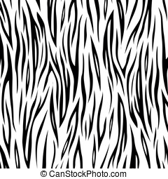 Vector zebra background