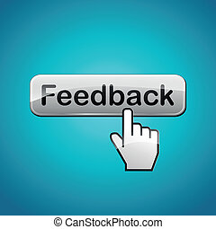 Vector feedback concept illustration - Vector illustration...