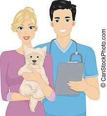 Dog Veterinarian Owner