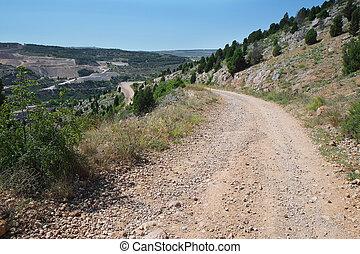 lacet - Mountain landscape with lacet