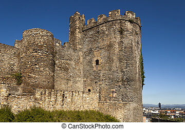 Ponferrada templar castle tower. - North tower of the...