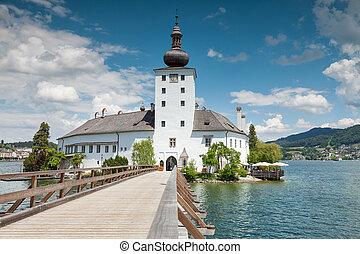 castello,  traunsee, lago