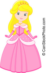 little Princess - Little princess in a pink dress