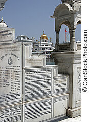 Sikh Memorial - Golden Temple Holiest shrine of the Sikh...