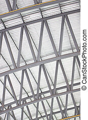 Patterns of factory steel roof truss. - Patterns of factory...