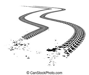 tire tracks clip art and stock illustrations 4 064 tire tire tread clipart tire tread marks clipart