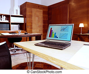a business meeting room